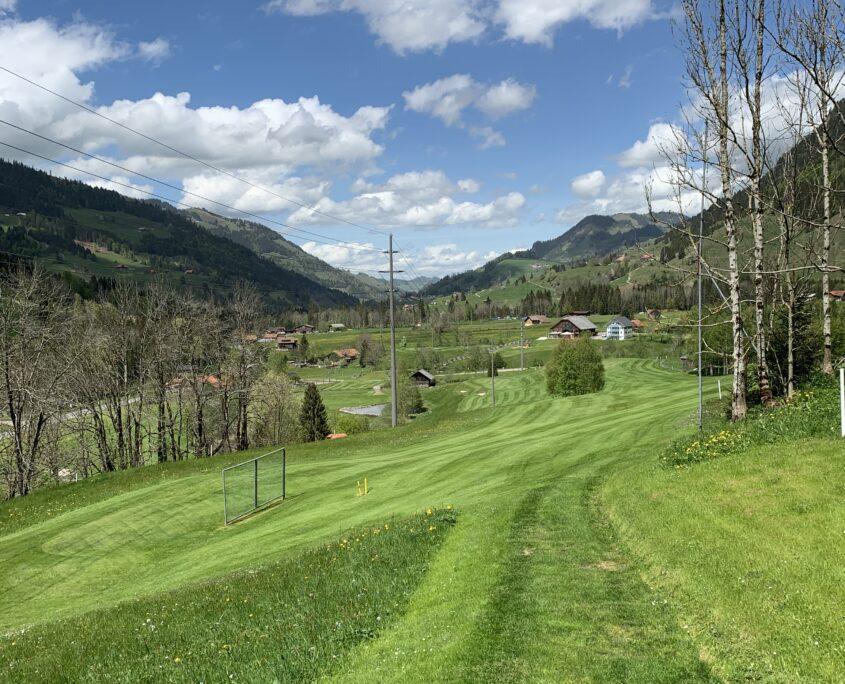 Golf Schweiz Luzern Biosphäre Entlebuch Fairway guter Platz Fairway